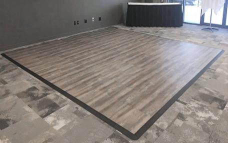 Smoked Oak Floor Indoor Outdoor, Outdoor Laminate Flooring